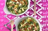 Überbackene Spinat-Gnocchi