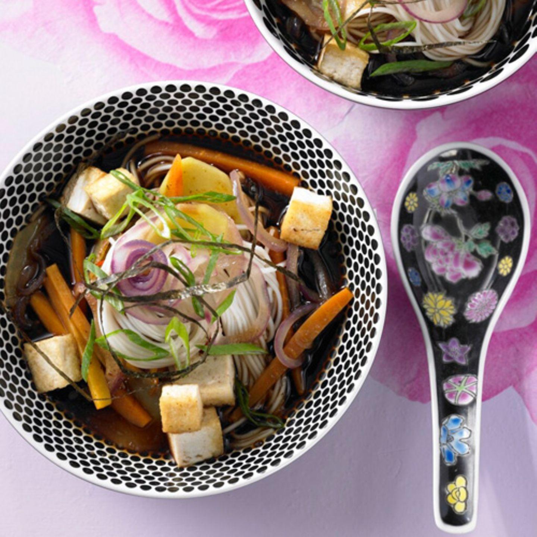 Miso-Suppe mit Tofu