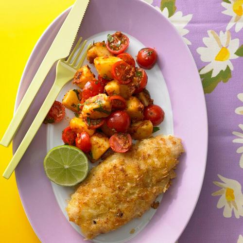 Fisch in Chips