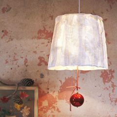 Lampenschirm aus Stoff selber machen