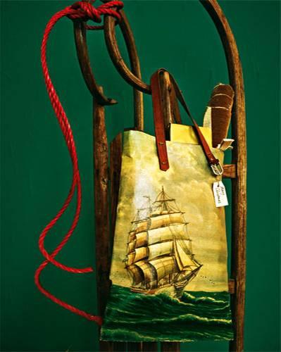Ölgemälde-Tasche