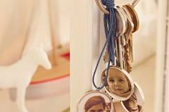 Schlüsselanhänger mit Foto selber machen