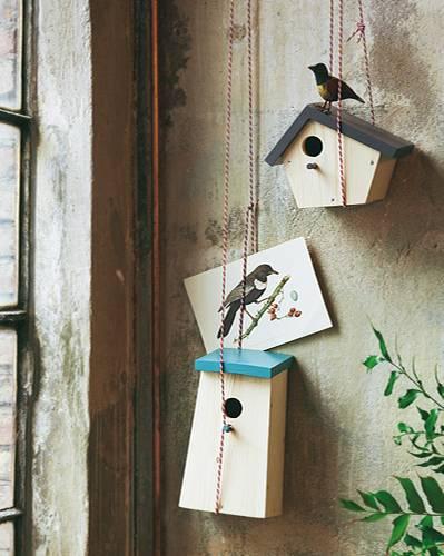 Vogelhäuser - Home sweet Home