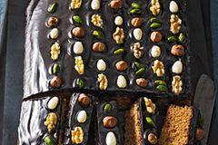 Lebkuchen-Rezept für Honigkuchen-Streifen
