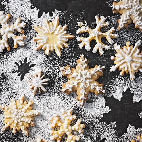 Eiskristalle bringen Marzipan-Fans zum Dahinschmelzen! Zum Rezept: Eiskristalle