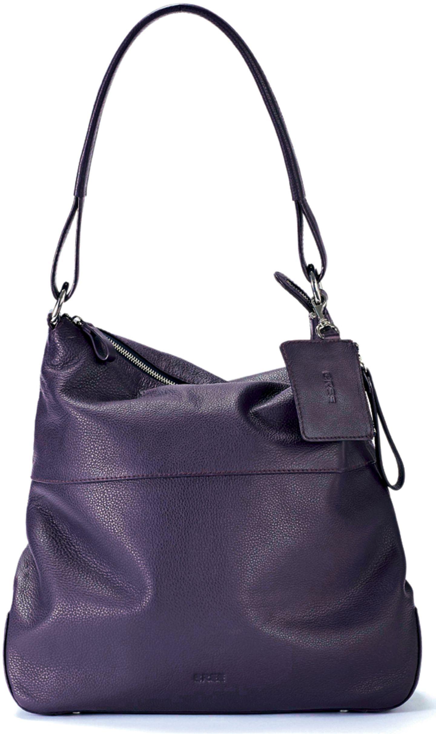 """Die Hobo Bag in der Farbe """"Holunder"""" - hier bestellen."""