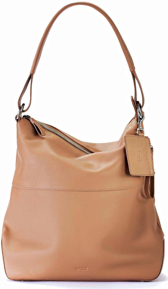 """Taschen-Liebe: Die Hobo Bag in der Farbe """"Fango"""" - hier bestellen."""