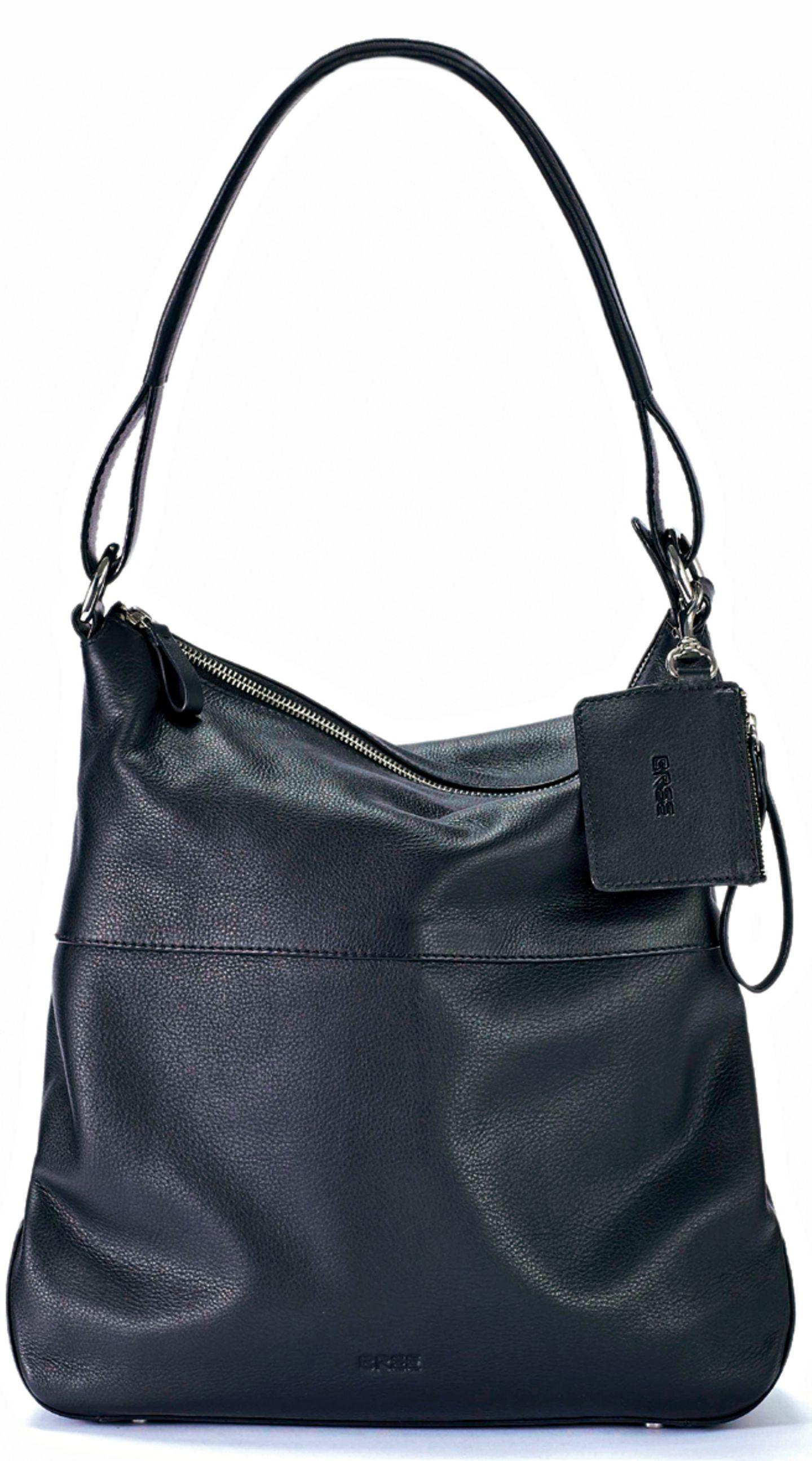 """Die Hobo Bag in der Farbe """"Black"""" - hier bestellen."""
