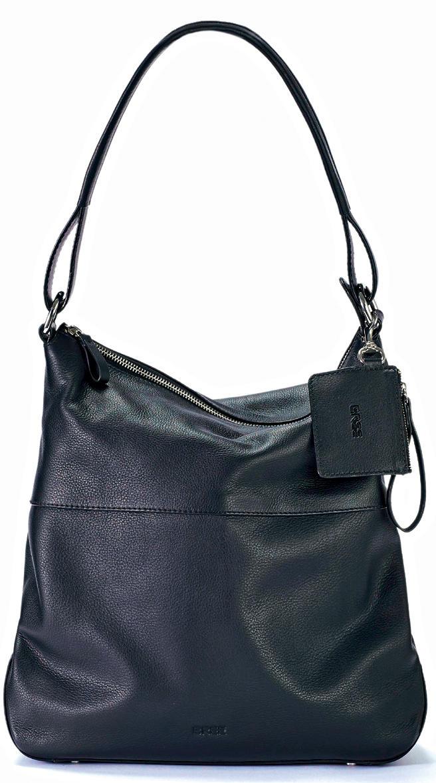 """Taschen-Liebe: Die Hobo Bag in der Farbe """"Black"""" - hier bestellen."""