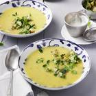 Kartoffel-Kresse-Suppe