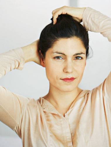 Vorher: Anna Pfingsten, Schauspielerin aus Hamburg