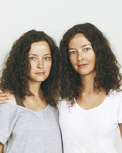 Vorher: Annett und Andrea Beyer aus Hamburg