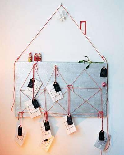 Anleitungen weihnachtsdeko selber basteln das wird ein for Weisses tischchen
