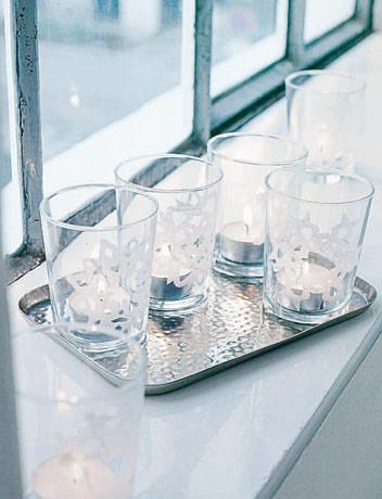 22) Eisblumen für Gläser