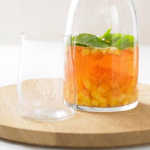 Zum Rezept: Mango-Bowle