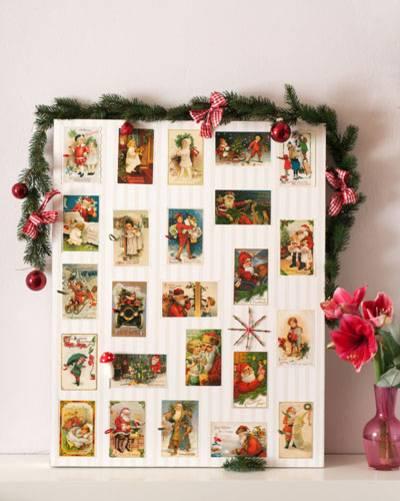 Nostalgischer Adventskalender