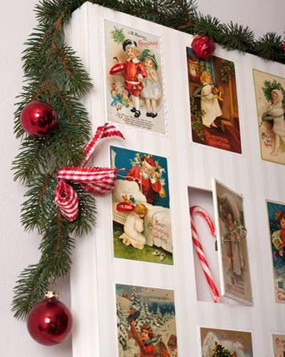 Anleitung: 16. ) Türchen füllen, Kalender nach Wunsch dekorieren und verschenken!