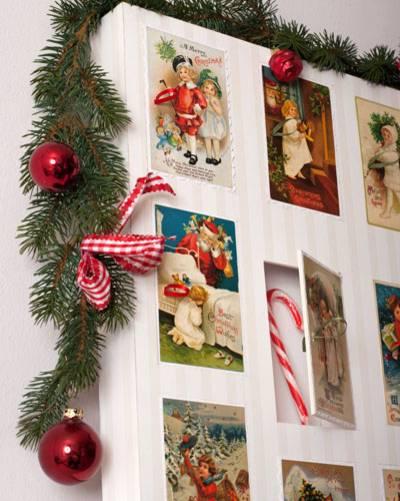 16. ) Türchen füllen, Kalender nach Wunsch dekorieren und verschenken!