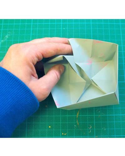 Papier zusammenfalten