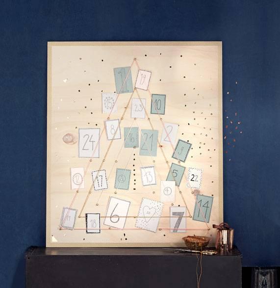 basteln adventskalender selber machen 22 anleitungen. Black Bedroom Furniture Sets. Home Design Ideas