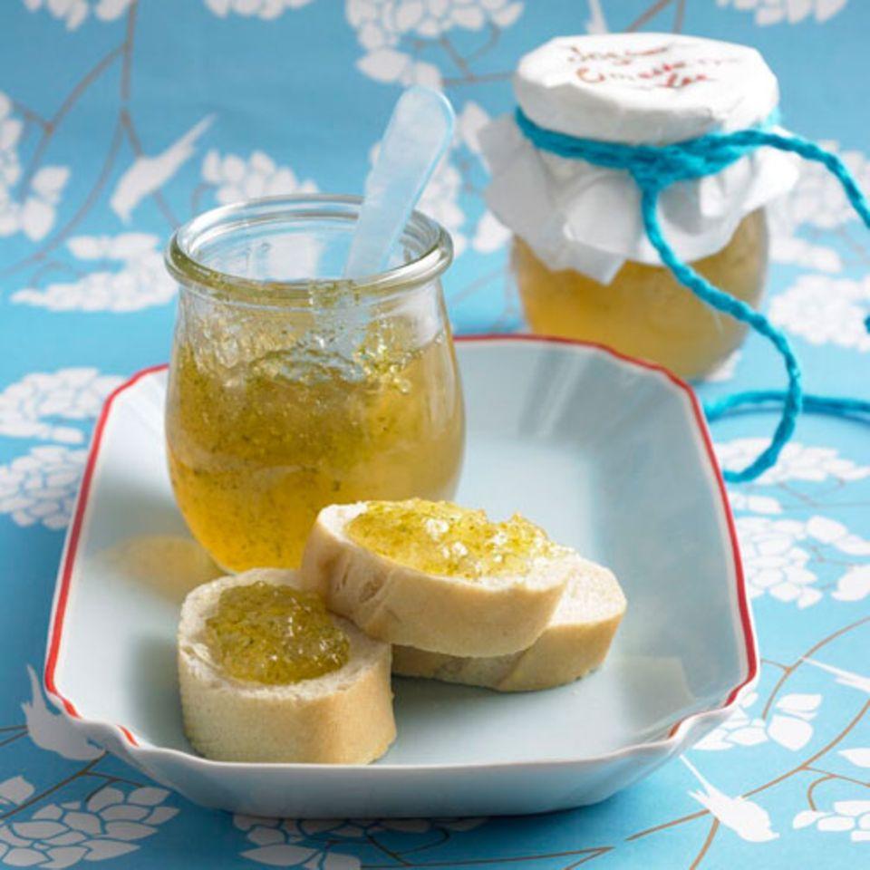 Ingwer-Limetten-Gelee