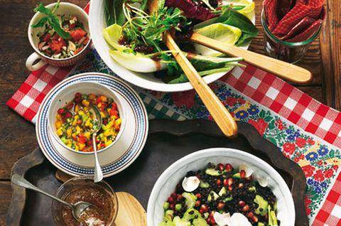 Leckere Beilagen zum Raclette und Fondue