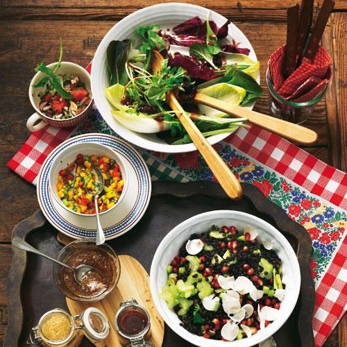 Beilagen für Raclette und Fondue