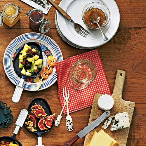 Raclette: Glück in Pfännchen