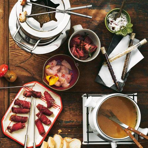 weihnachten raclette und fondue neue ideen. Black Bedroom Furniture Sets. Home Design Ideas