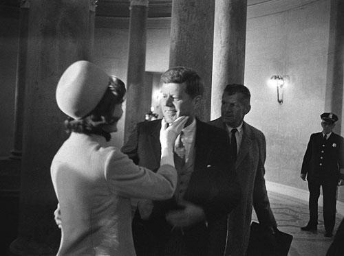 Präsidialer Moment am Wahltag (20. Januar 1961)
