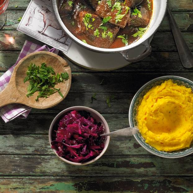 Zum Rezept: Kürbis-Kartoffelpüree