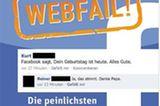 """Nenad Marjanovic, Manuel Iber: """"geadded, gepostet, Webfail! Die peinlichsten und lustigsten Facebook-Einträge"""", riva Verlag, 8,99 Euro"""