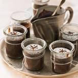 Schoko-Nuss-Pudding im Weckglas