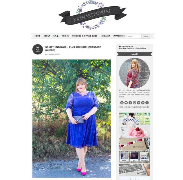 Plus-Size-Blog KATHASTROPHAL