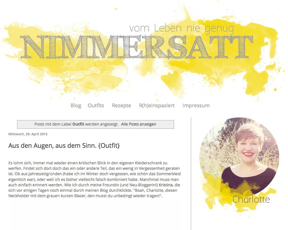 Plus-Size-Blog NIMMERSATT