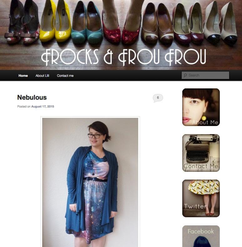 Plus-Size-Blog FROCKS & FROU FROU