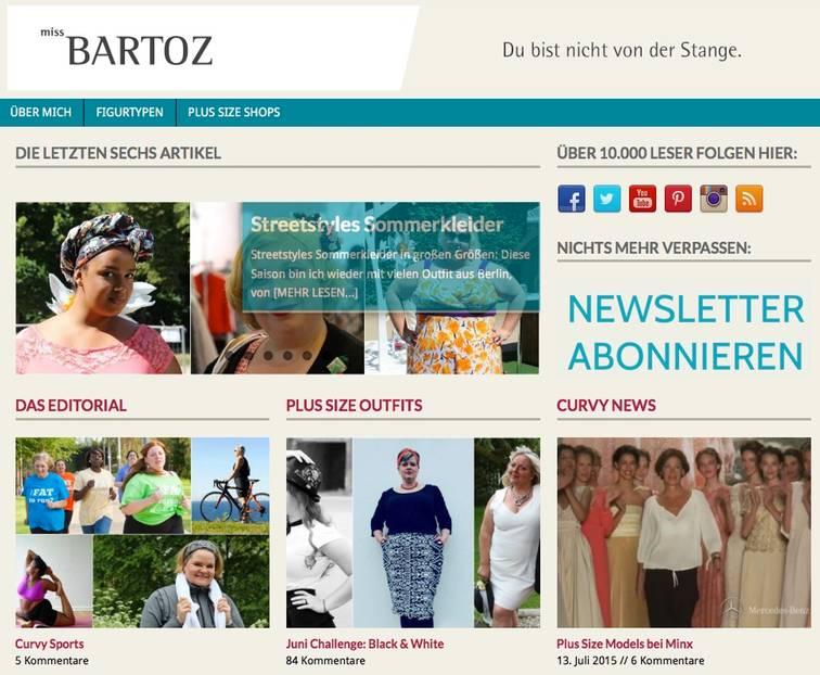 Plus-Size-Blog MISS BARTOZ