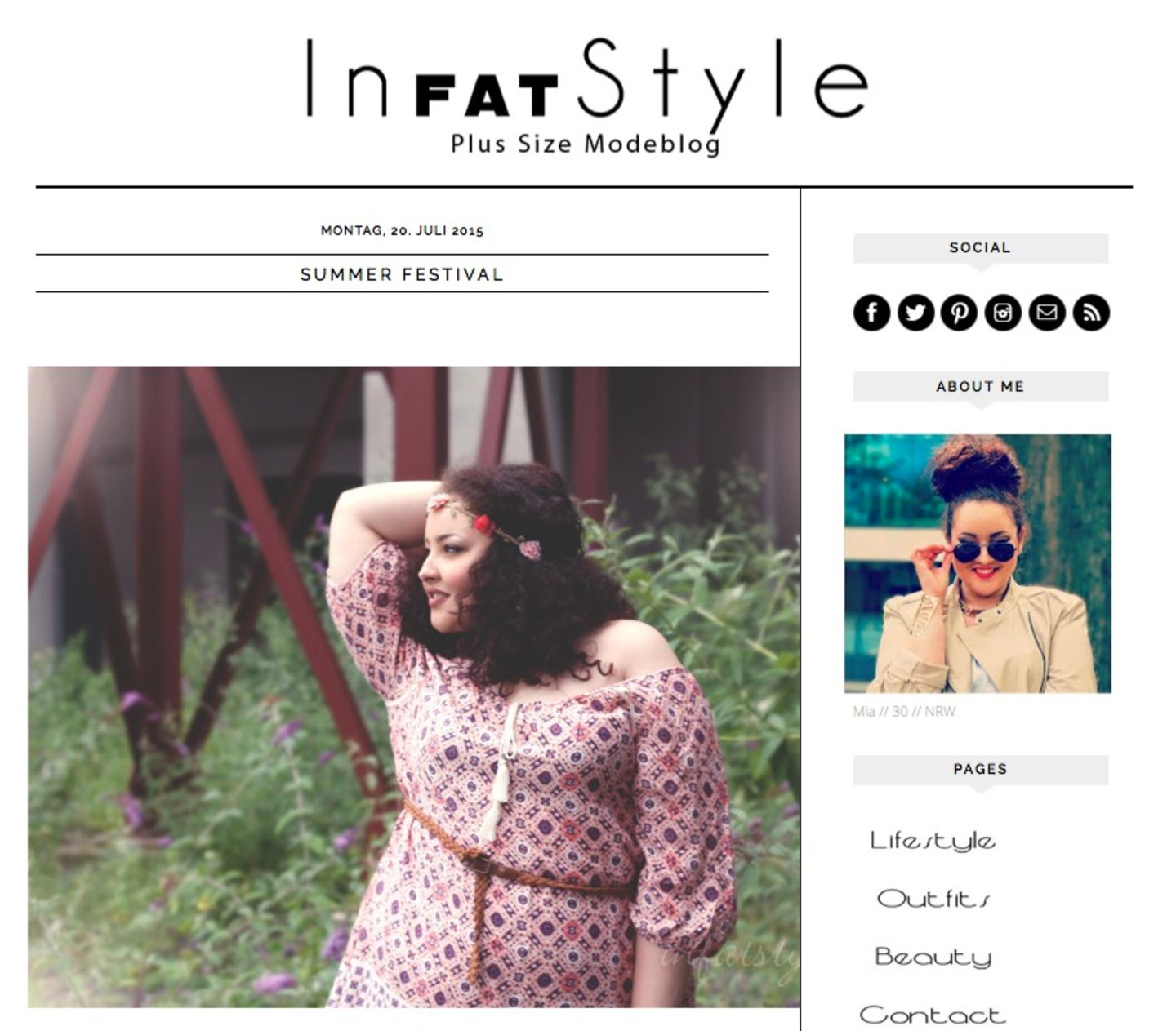 Plus-Size-Blog IN FAT STYLE
