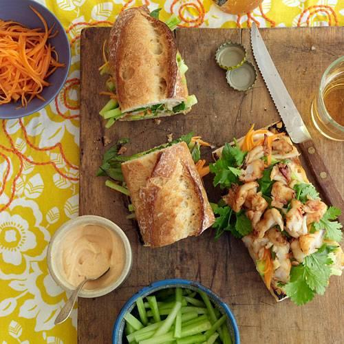 Gwyneth Paltrows vietnamesisches Garnelensandwich