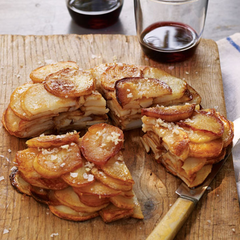 Gwyneth Paltrows knusprige Kartoffeltorte mit Knoblauch