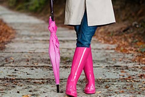 Diese Mode lässt Sie nicht im Regen stehen