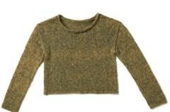 Kurz und bündig - und ein Freund fürs Leben. Denn der Pulli ist aus wunderbar weichem, wetterfestem Alpaka. Zur Strickanleitung: Garnmix-Pullover stricken