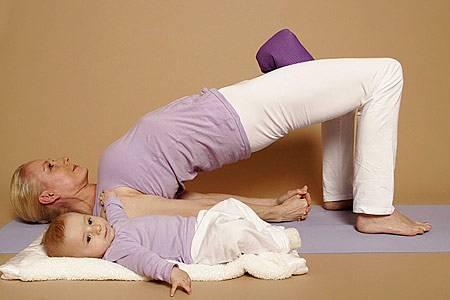 Brücke - stärkt Bein- und Rückenmuskulatur