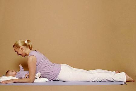 Bauchwelle (Teil 1) - verbessert die Haltung, stärkt die Bauchmuskulatur