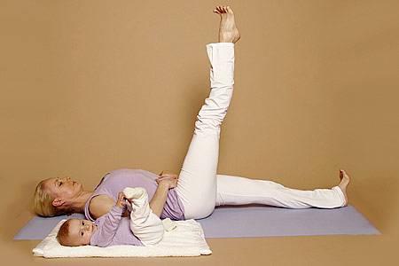Beinstrecker - für die Bauchmuskulatur