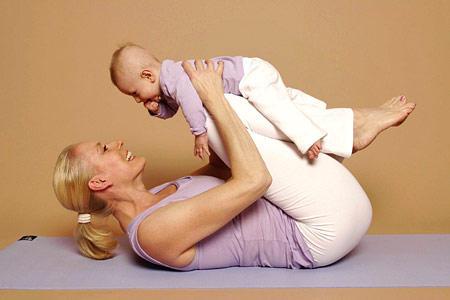 Baby-Schaukel - lindert Verspannungen und Verdauungsbeschwerden