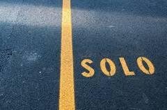 Straße solo