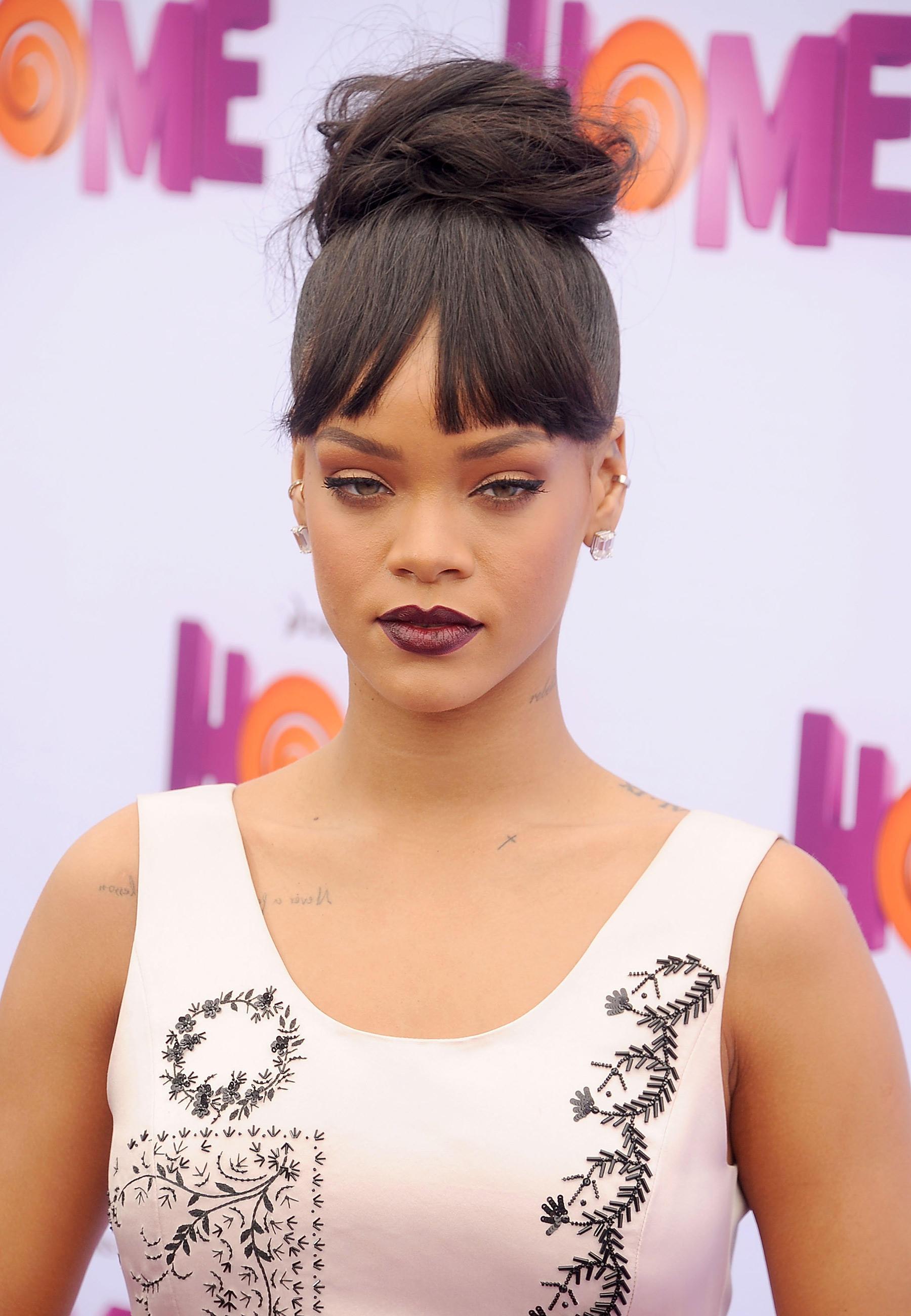 Promis mit Dutt: Rihanna