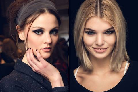 Frisuren- und Make-up-Trends von der Fashion Week in Berlin