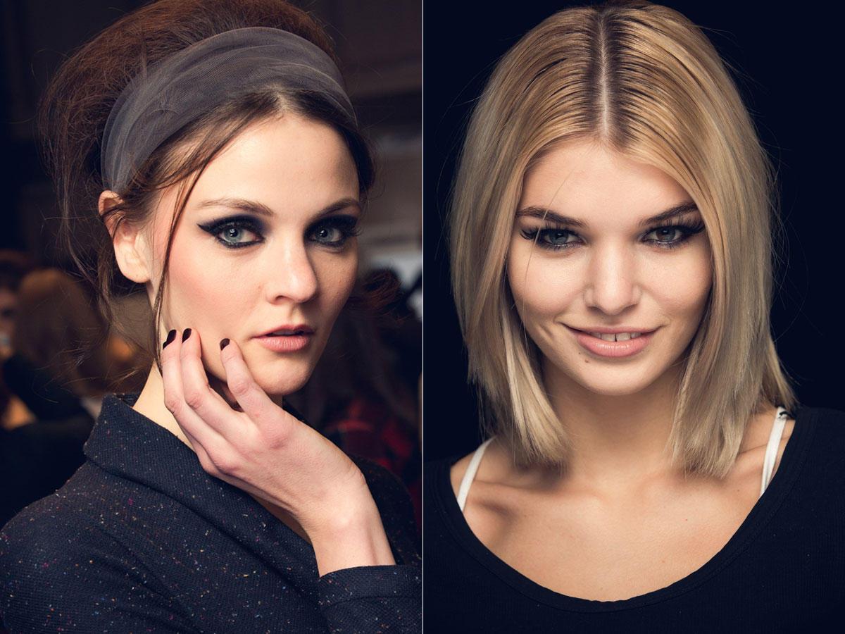 Die neuen Frisuren- und Make-up-Trends